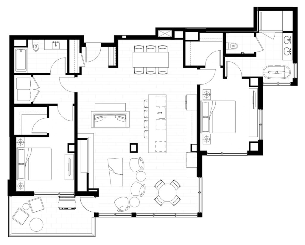 One Snowmass 301 West floor plan