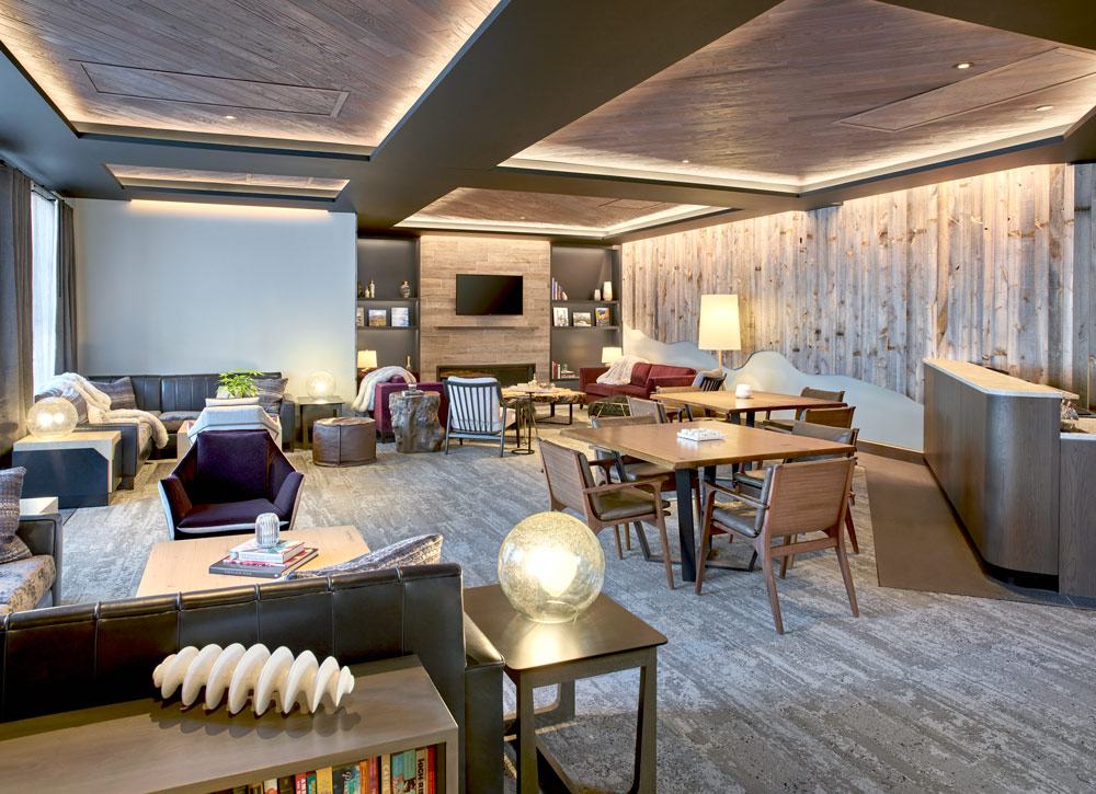 Snowmass Mountain Club Lounge