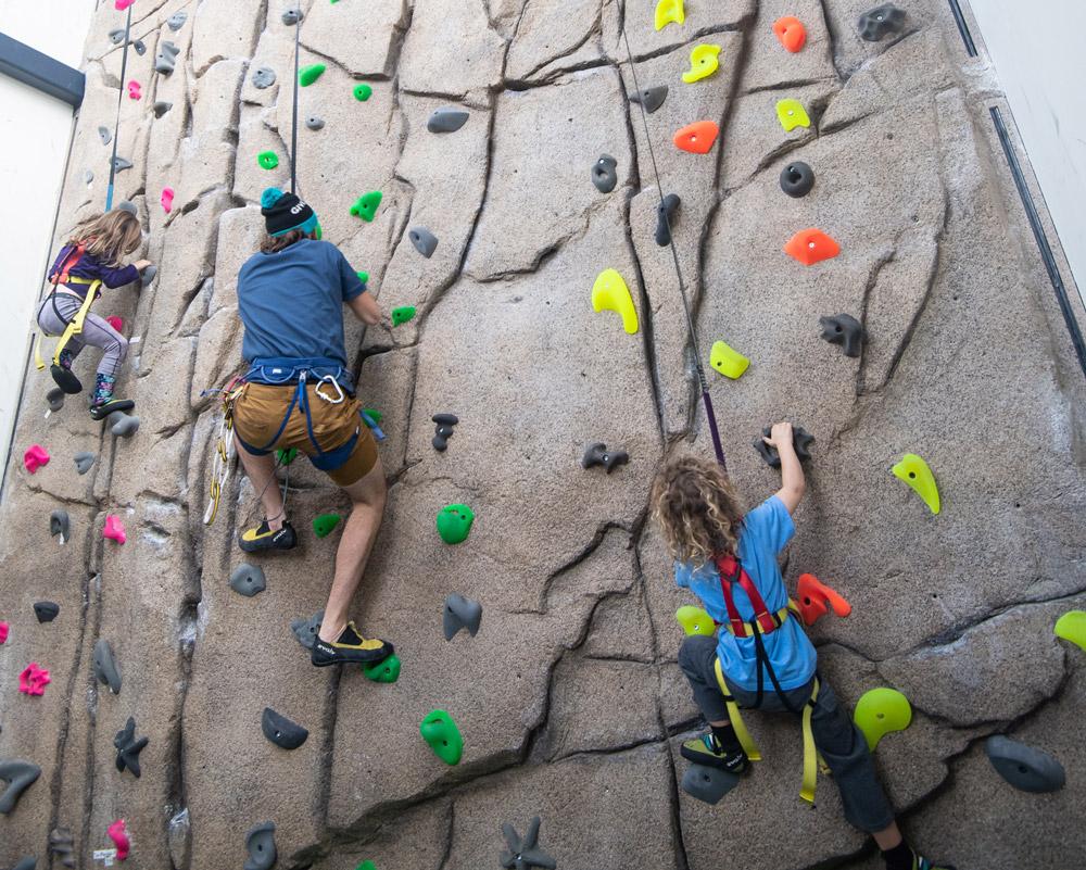 Limelight climbing wall
