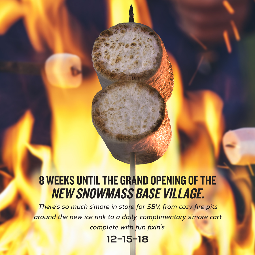 8 Weeks Until the Grand Opening of Snowmass Base Village