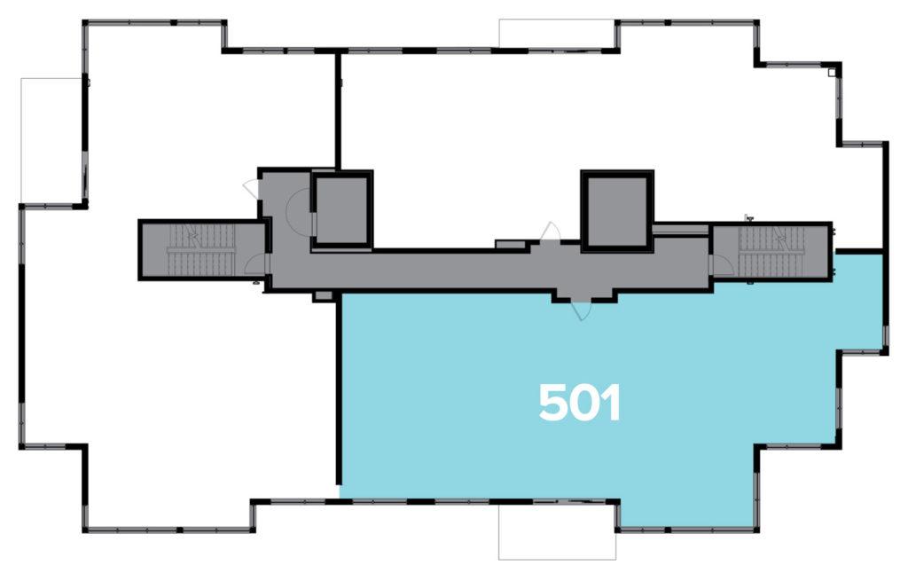 One Snowmass 501 West floor plate