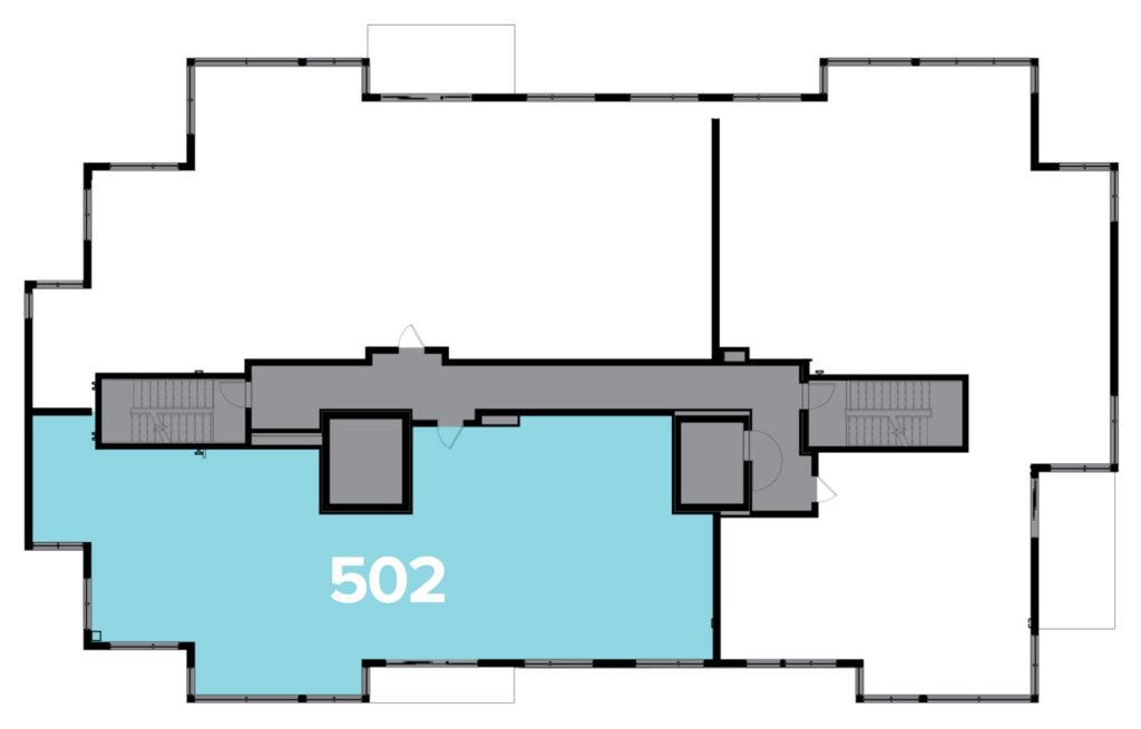 One Snowmass 502 West floor plate