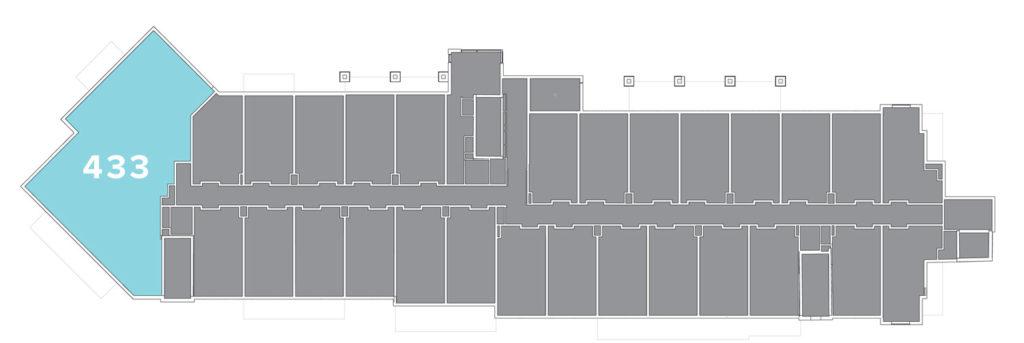 Limelight residence 433 floor plate