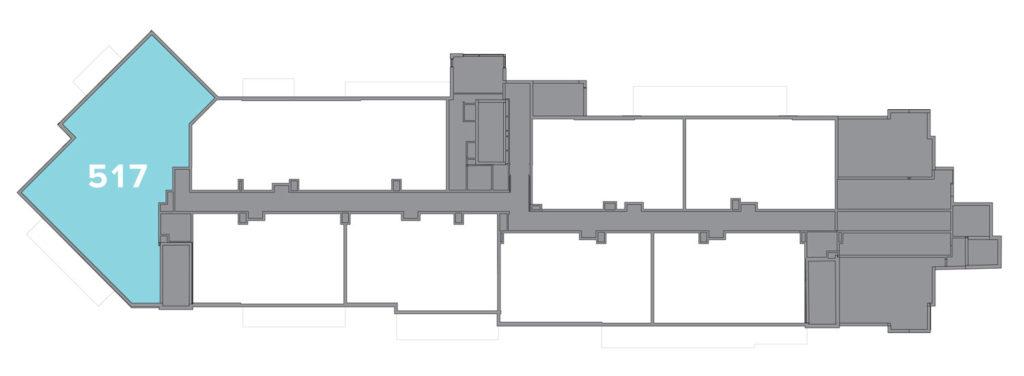 Limelight residence 517 floor plate