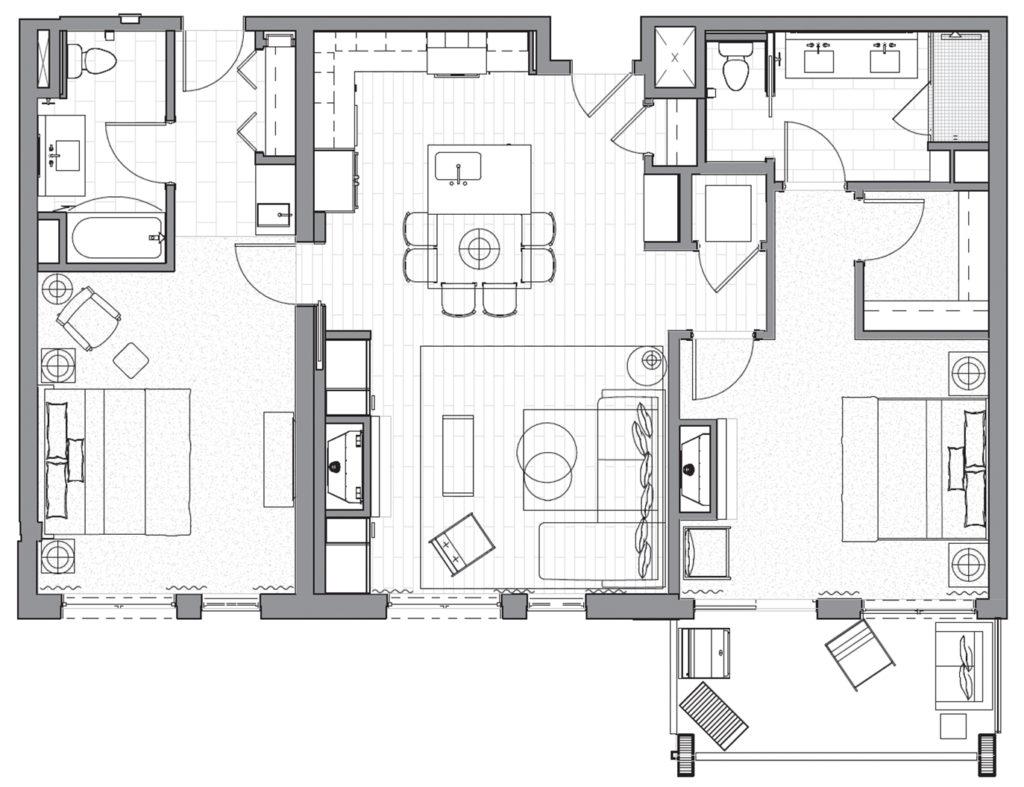 Limelight 505 Floorplan